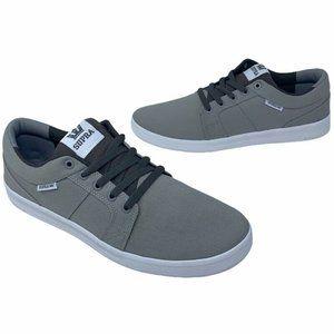 Supra Mens Ineto Skate Shoes Gray 08054-031 New
